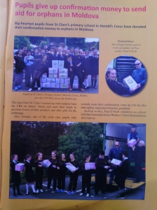 """An Article about is in """"Connect"""" the Communication Workers Union magazine Autumn 2015"""
